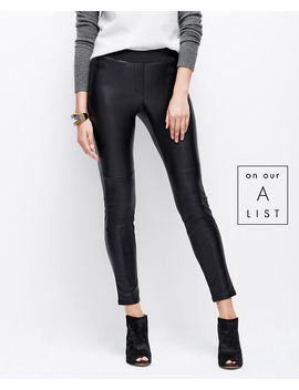 faux-leather-leggings by ann-taylor