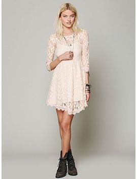 floral-mesh-lace-dress by free-people