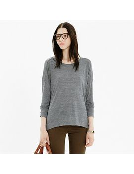 raw-edge-tee by madewell