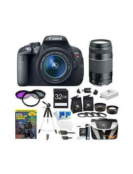 canon-eos-rebel-t5i-180-mp-cmos-digital-camera-with-ef-s-18-55mm-f_35-56-is-stm-zoom-lens-+-ef-75-300mm-f_4-56-iii-telephoto-zoom-lens-+-telephoto-&-wide-angle-lenses-+-12pc-bundle-32gb-deluxe-accessory-kit by focus-camera