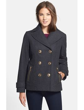 wool-blend-peacoat by michael-michael-kors