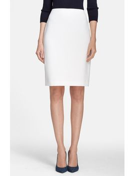 crepe-marocain-pencil-skirt by st-john-collection