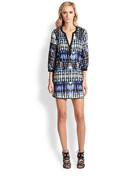 mallory-silk-ikat-shirtdress by parker