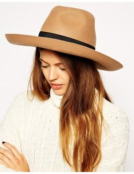 asos-wide-brim-stenson-felt-hat by asos-collection