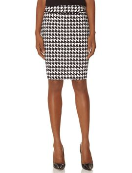 printed-piped-waistband-pencil-skirt by the-limited