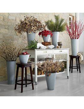 sheridan-white-kitchen-island by crate&barrel