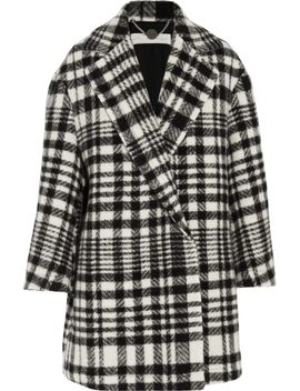 fonny-oversized-checked-wool-and-alpaca-blend-coat by stella-mccartney
