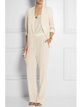 bartlett-silk-crepe-de-chine-blazer by stella-mccartney