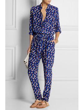 wilson-printed-silk-crepe-de-chine-shirt by stella-mccartney
