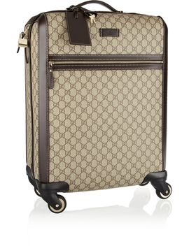 gran-turismo-leather-trimmed-coated-canvas-travel-trolley by gucci