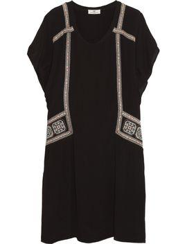 folk-oversized-embroidered-crepe-dress by day-birger-et-mikkelsen