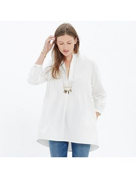 pintuck-tunic by madewell