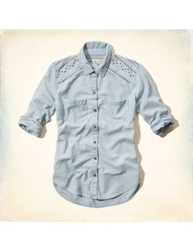 rolling-hills-embroidered-denim-shirt by hollister