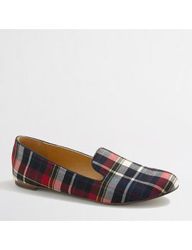 factory-addie-plaid-loafers by jcrew
