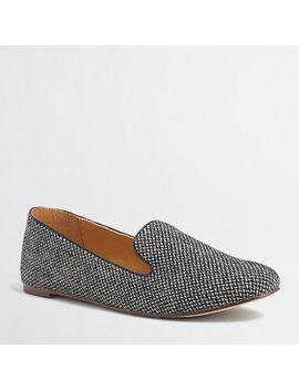 factory-addie-herringbone-loafers by jcrew