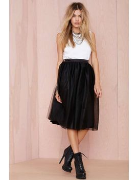 nasty-gal-so-meshed-up-midi-skirt by nasty-gal