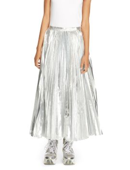 pleated-maxi-skirt by dkny