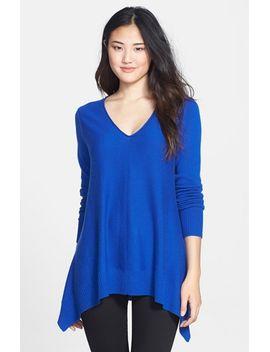 wool-&-cashmere-shark-bite-sweater by caslon®