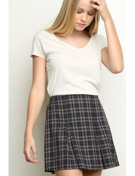 kaitlee-skirt by brandy-melville