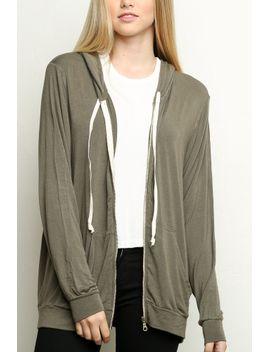 christina-hoodie by brandy-melville
