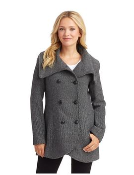 textured-peacoat-with-cowl-neckline by lord-and-taylor