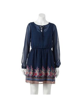 juniors-mudd®-border-print-peasant-dress by kohls