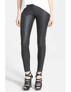 faux-leather-leggings by glamorous