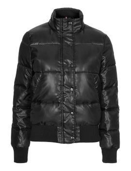 black-jodie-bomber-by-puffa by topshop