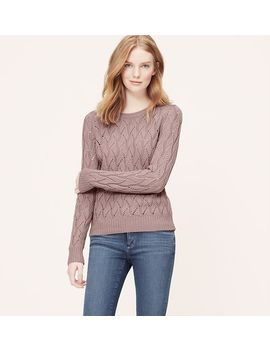 petite-pointelle-sweater by loft