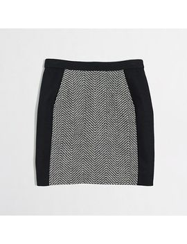 factory-tweed-mini-with-pockets by jcrew