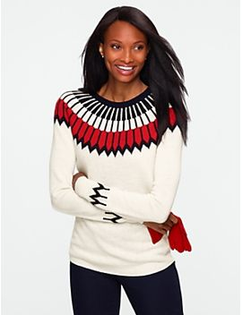 nordic-fair-isle-sweater by talbots
