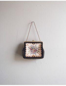 vintage-black-purse-_-embroidered-handbag by oldschoolswank