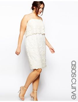 asos-curve-cami-dress-with-lace-layers by asos-curve