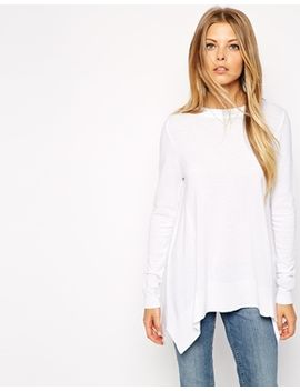 asos-trapeze-sweater-in-fine-knit by asos-collection