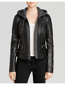 mila-hooded-leather-jacket by marc-new-york