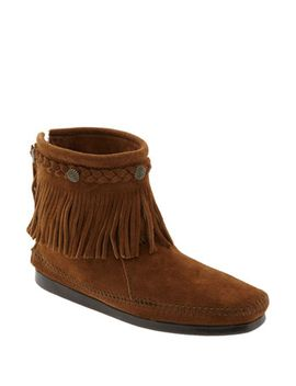 fringed-moccasin-bootie by minnetonka