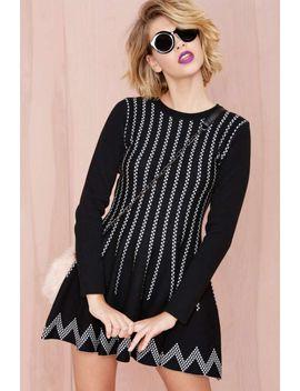 nellie-knit-dress by nasty-gal