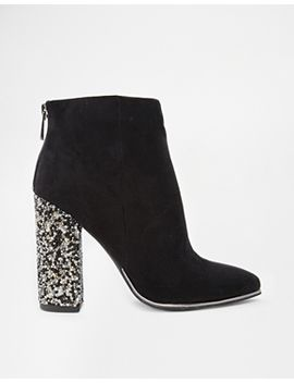 new-look-caviar-embellished-heeled-ankle-boots by new-look