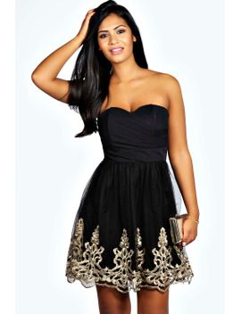 bianca-baroque-tulle-sweetheart-prom-dress by boohoo