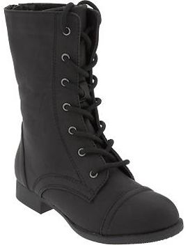 girls-lace-up-boots by old-navy