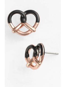 sweet-pretzel-stud-earrings by marc-by-marc-jacobs