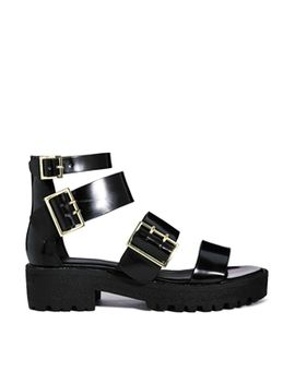 asos-freetown-chunky-flat-sandals by asos-collection