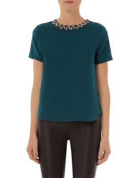 embellished-satin-back-top by dorothy-perkins