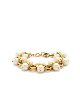 pearl-lock-bracelet by jcrew