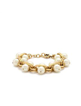 pearl-lock-bracelet by jcrew