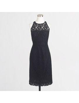 lace-sleeveless-dress by jcrew