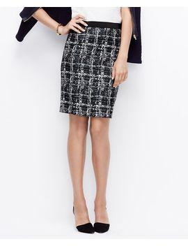 textured-pencil-skirt by ann-taylor