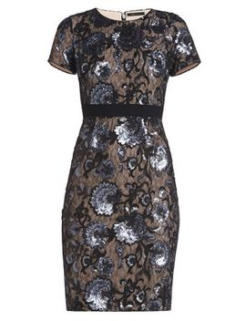 kristan-short-sleeve-sheath-dress by bcbgmaxazria