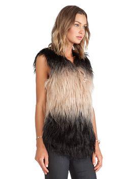 faux-fur-vest by blanknyc