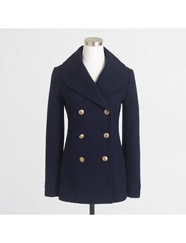 factory-classic-peacoat by jcrew
